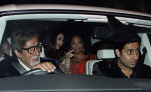 Oprah with Bachchan family