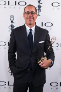 Jerry Seinfeld at the Clio Awards