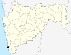Location of Jaitapur Nuclear Power Plant
