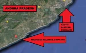 Reliance Defense Shipyard (credits- Livefist)