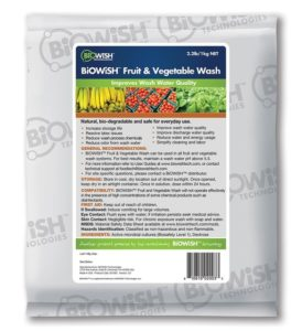 BioWiSH Fruit and Vegetable Wash