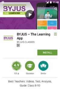 Byju's Learning App