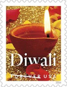 Forever Stamp on Diwali