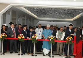Inauguration of Huawei's GSC in India