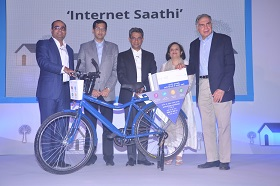 Launch of Internet Saathi