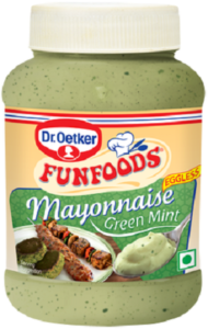 Dr. Oetker's mayonnaise
