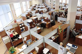 Inside an Office