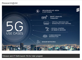 Ericsson and IIT-D to Collaborate on 5G