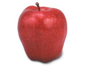 Red delicious variety of Washington Apples