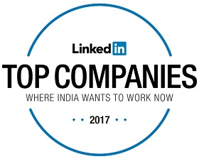 Logo of Linked in's Top Companies Where India Wants to Work