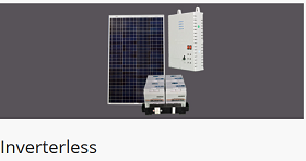 Solar DC Inverterless