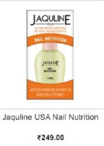 Jacquline USA's Nail Nutrition