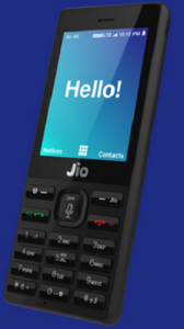 4G VoLTE-enabled JioPhone