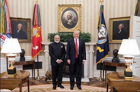 President Trump and PM Modi