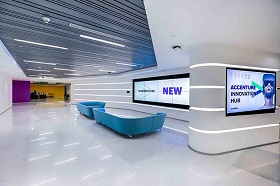 A look inside the new Accenture Innovation Hub in Bangalore