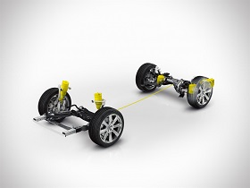 Volvo XC90 - Air suspension