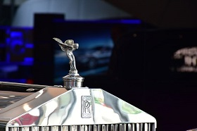 Rolls Royce insignia