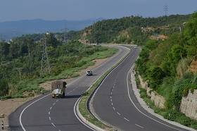 National Highway No. 1 near Jammu