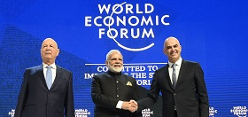 PM Modi in Davos for World Economic Forum Meet