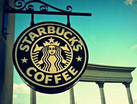 Starbucks Coffee signboard