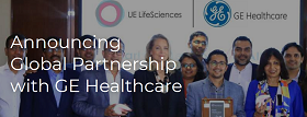 UE Lifescience Partners with GE Healthcare